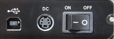 Picture of Power Adapter for V2 ABSplus Desktop Backup (Black Faceplate)