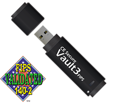 Picture of CE Secure Vault3 FIPS Flash Drive