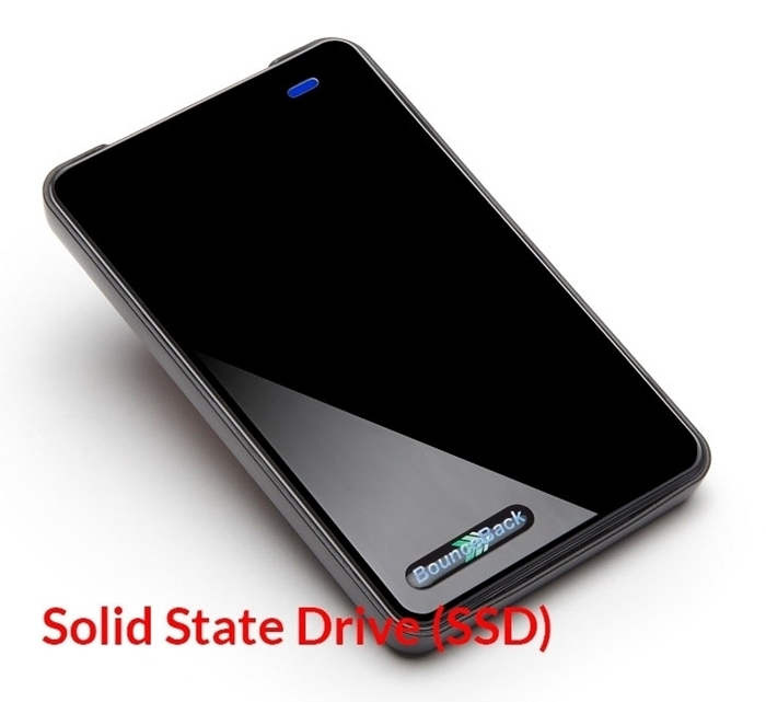Picture of CMS Portable External Hard Drive SSD USB 3.0 (Drive only - BounceBack not included)